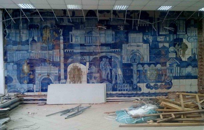 Советская наскальная живопись