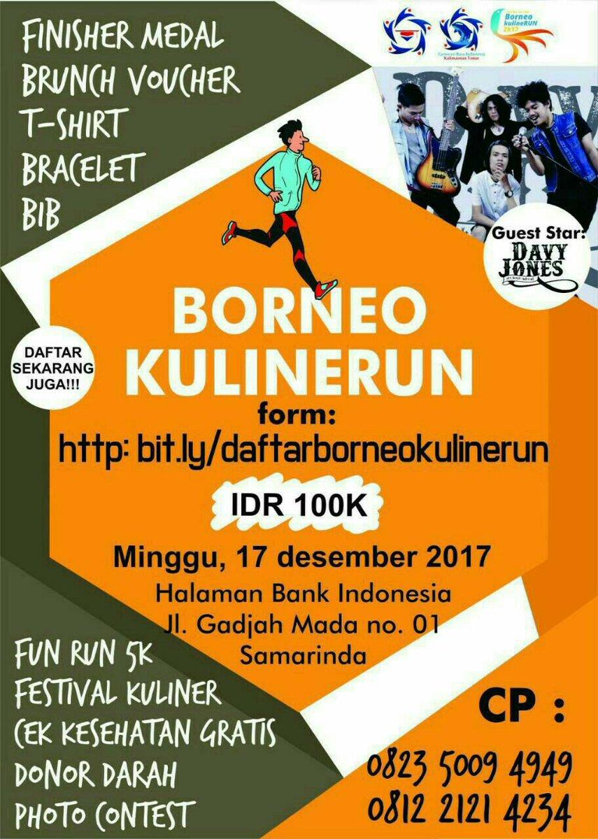 Borneo kulineRun 2K17 • 2017