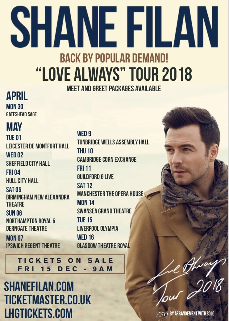 Image result for shane filan love always 2018