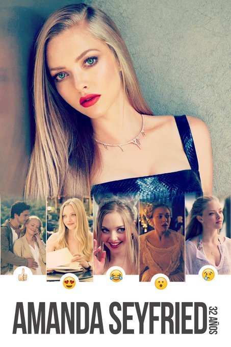 Happy Birthday Amanda Seyfried- From