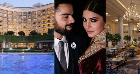 Anushka Sharma and Virat Kohli's Wedding Reception Will Take Place in THIS Indian Hotel! https://t.co/1wUdLkq456