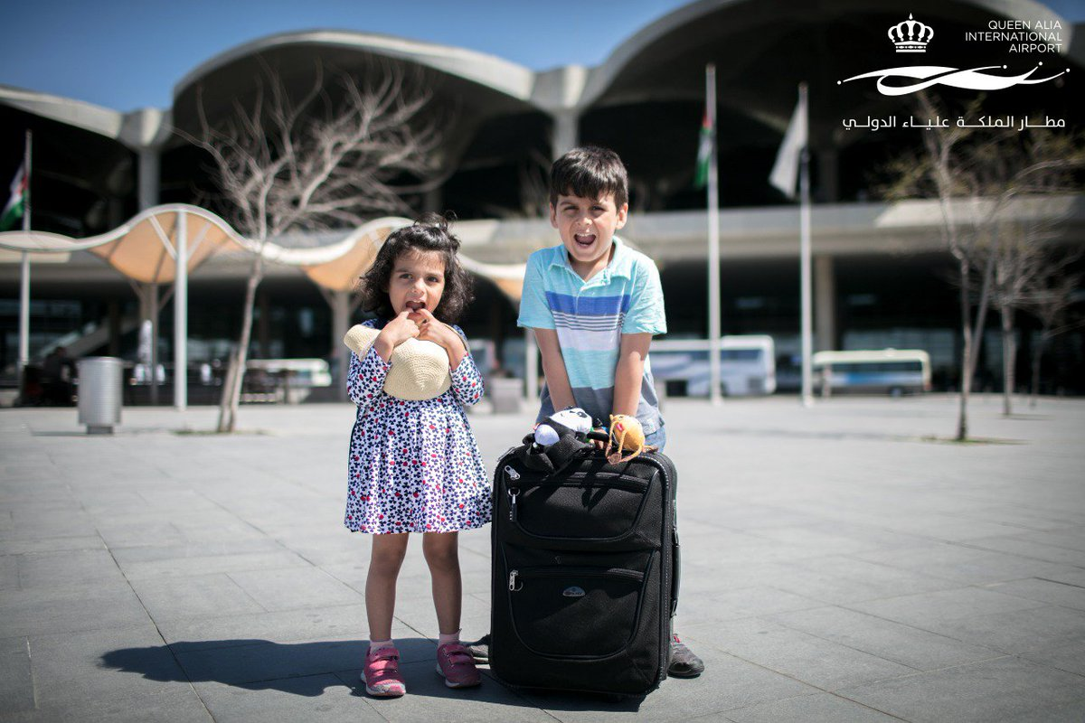 The breathless excitement that comes with new adventures. #QAIA #Jordan #Family #Travel #Children