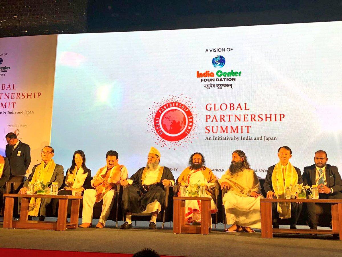 Inaugurated the Global Partnership Summit 2017 in New Delhi. #GPS2017