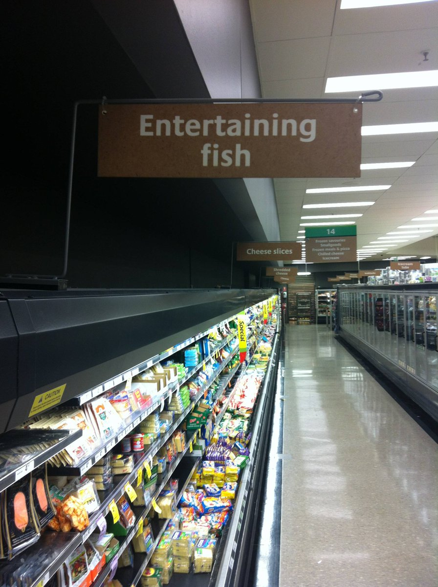 #recap 17 supermarket signs made by secr...