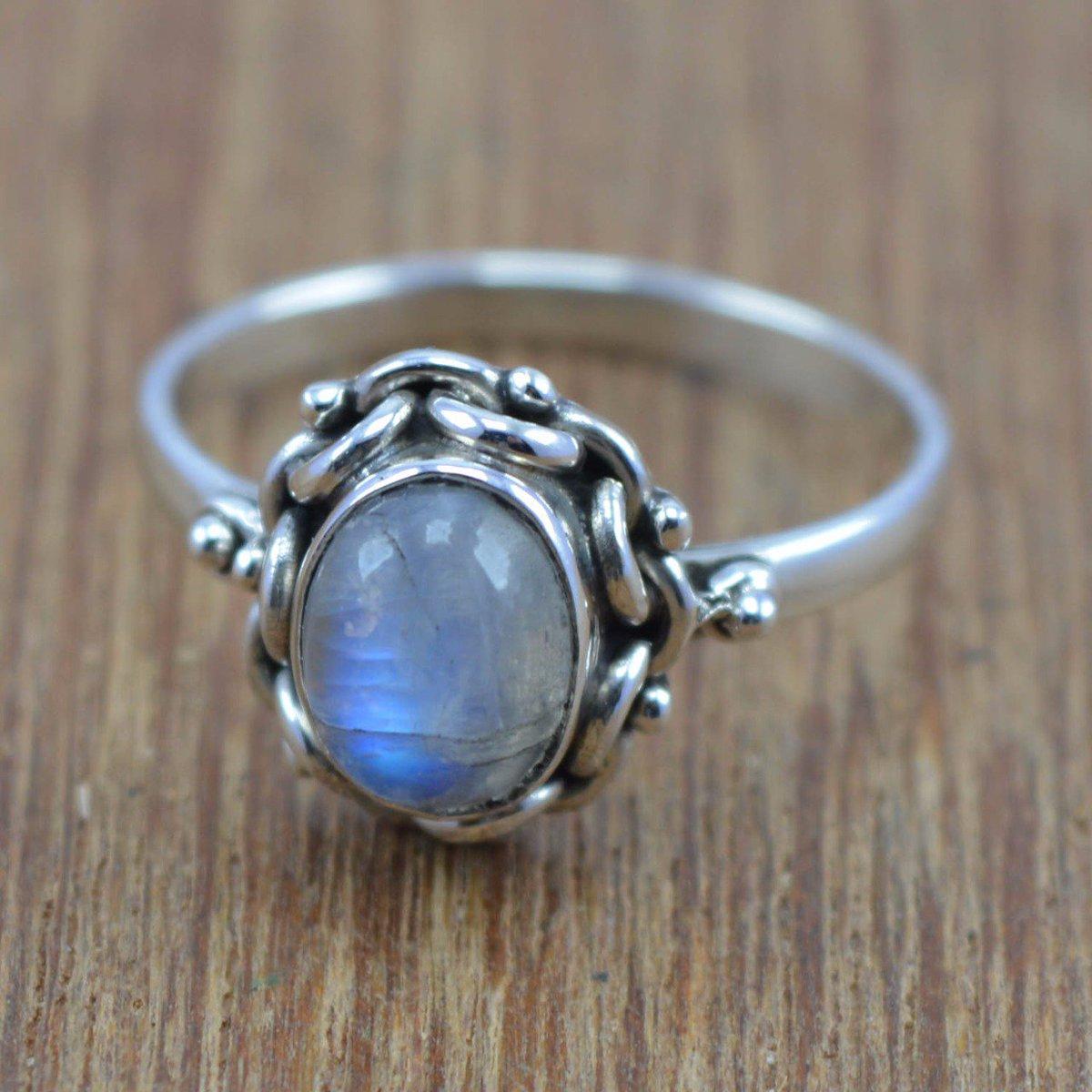 f8fb6d521 Code- WR-4307 #handmadesilver #natural #order #wholesale #handmade  #silver925 #sterling #silverjewelrydoctor #silvergemstonejewelry  #silverring #moonstone ...