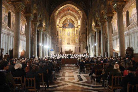 Inaugurata nel Duomo di Monreale la Settimana della Musica Sacra (FOTO) - https://t.co/aO5CS92Cq4 #blogsicilianotizie
