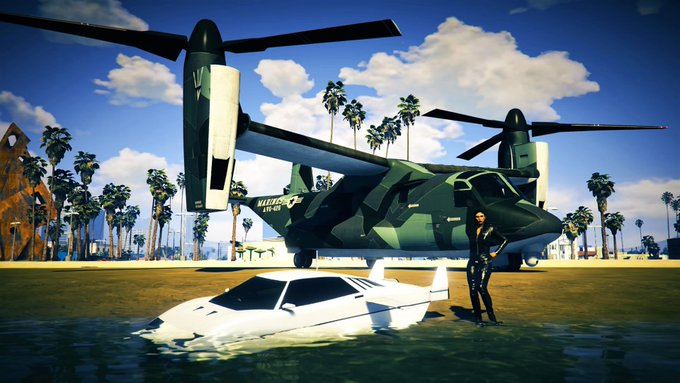 Grand Theft Auto Online Now Has A Flying Delorean