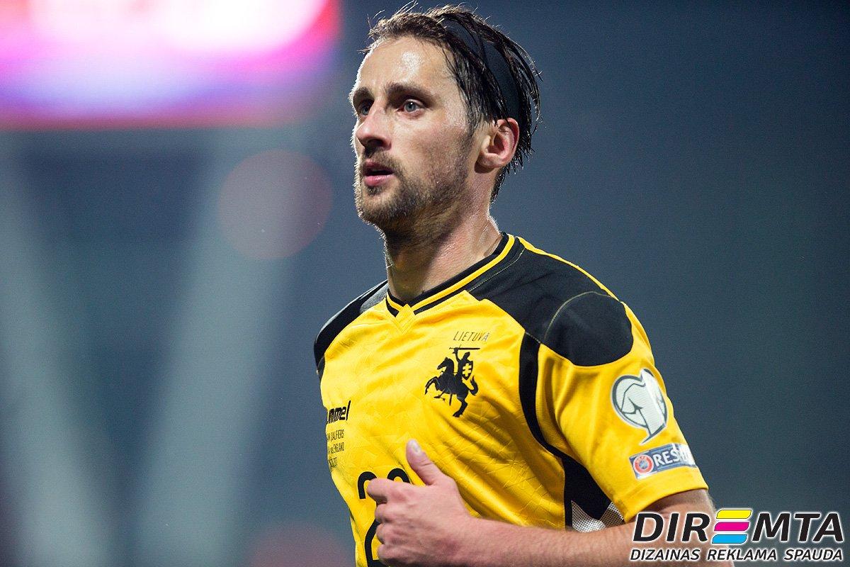 The #Lithuanian national defender Valdem...