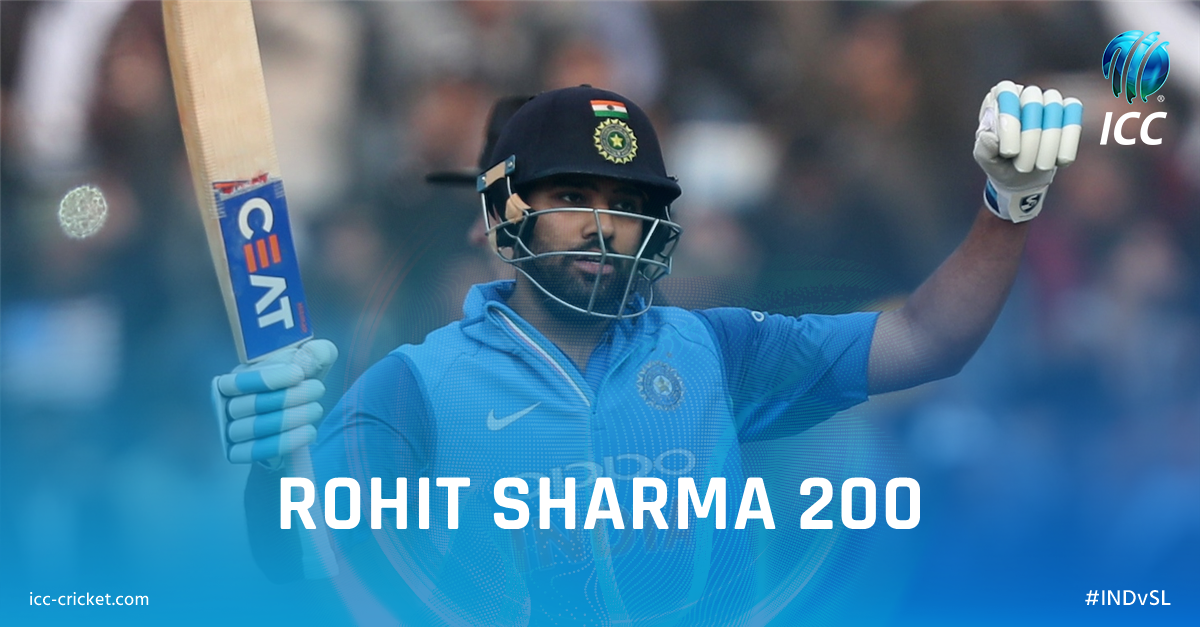 No other player has more than one ODI 200