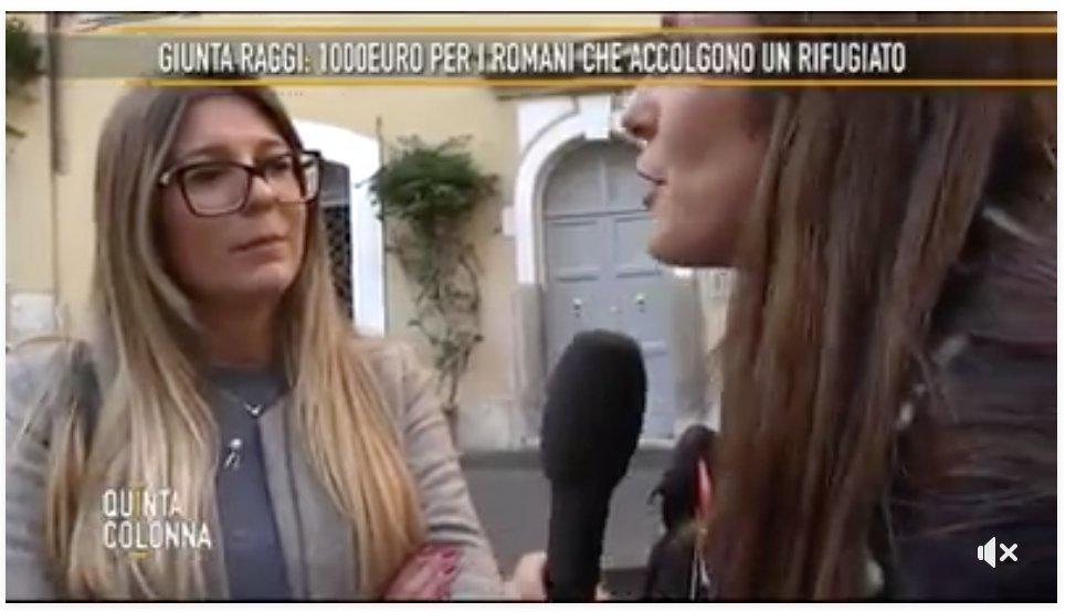 Accogliereste un clandestino per 1.000 euro al mese? Sentite che cosa ne pensano i romani... Ma per la Raggi serve 'sperimentare'...... #stopinvasione #primagliitaliani VIDEO > https://t.co/aXRUGeuUPo