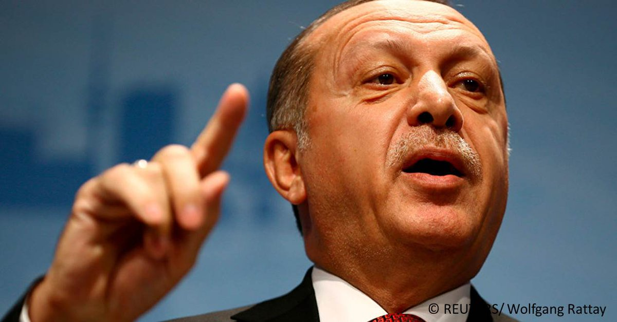 En réaction à la décision de transférer l'ambassade US à Jérusalem, Erdogan a appelé à la reconnaissance de Jérusalem-Est comme «capitale de la Palestine» https://t.co/vu2fld0FJl