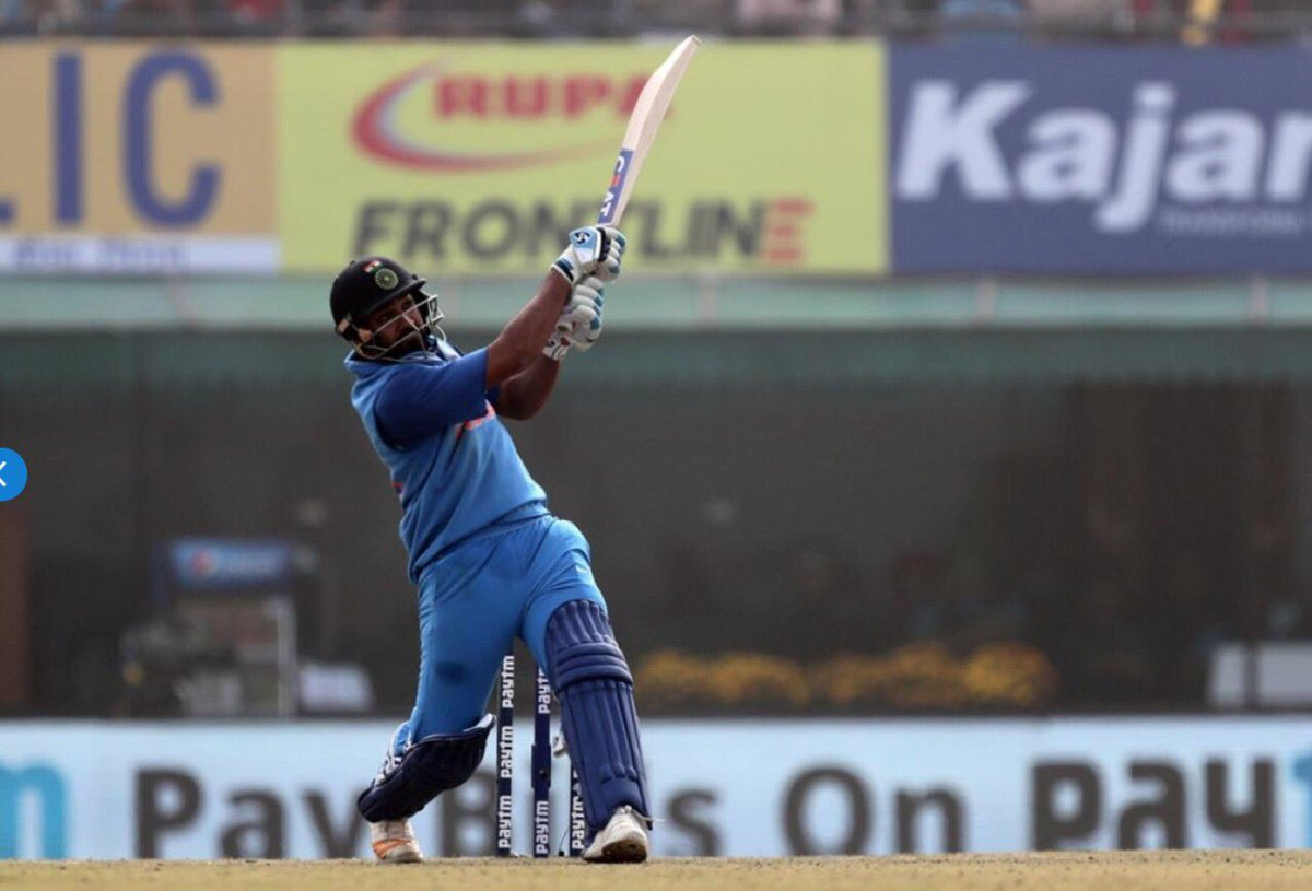 Not one, not two but three double centuries in ODI cricket. You made batting look easy and simple in this innings, @ImRo45. Thoroughly enjoyed it. Keep them coming always.👌✌️💪#IndvsSri #BCCI