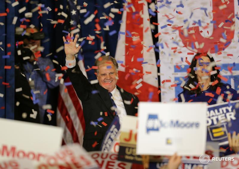 Doug Jones' Alabama victory trims the Republicans' already narrow Senate majority, endangers Trump's agenda https://t.co/a8JJg7yKtR