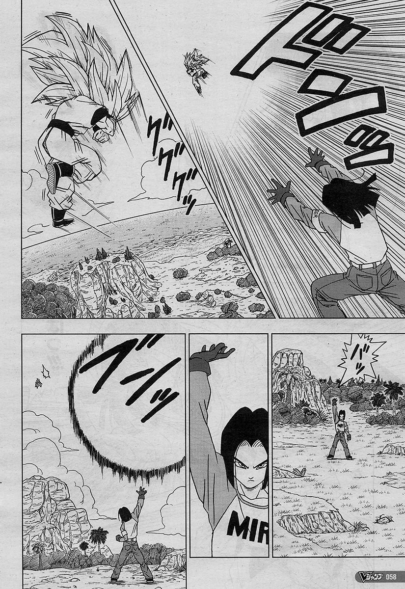 Govetaxv On Twitter Dragon Ball Super Chapter 32 Part 2