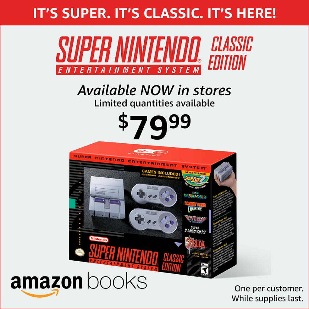 nintendo classic loaded with 21 games in stores now while supplies last see store info