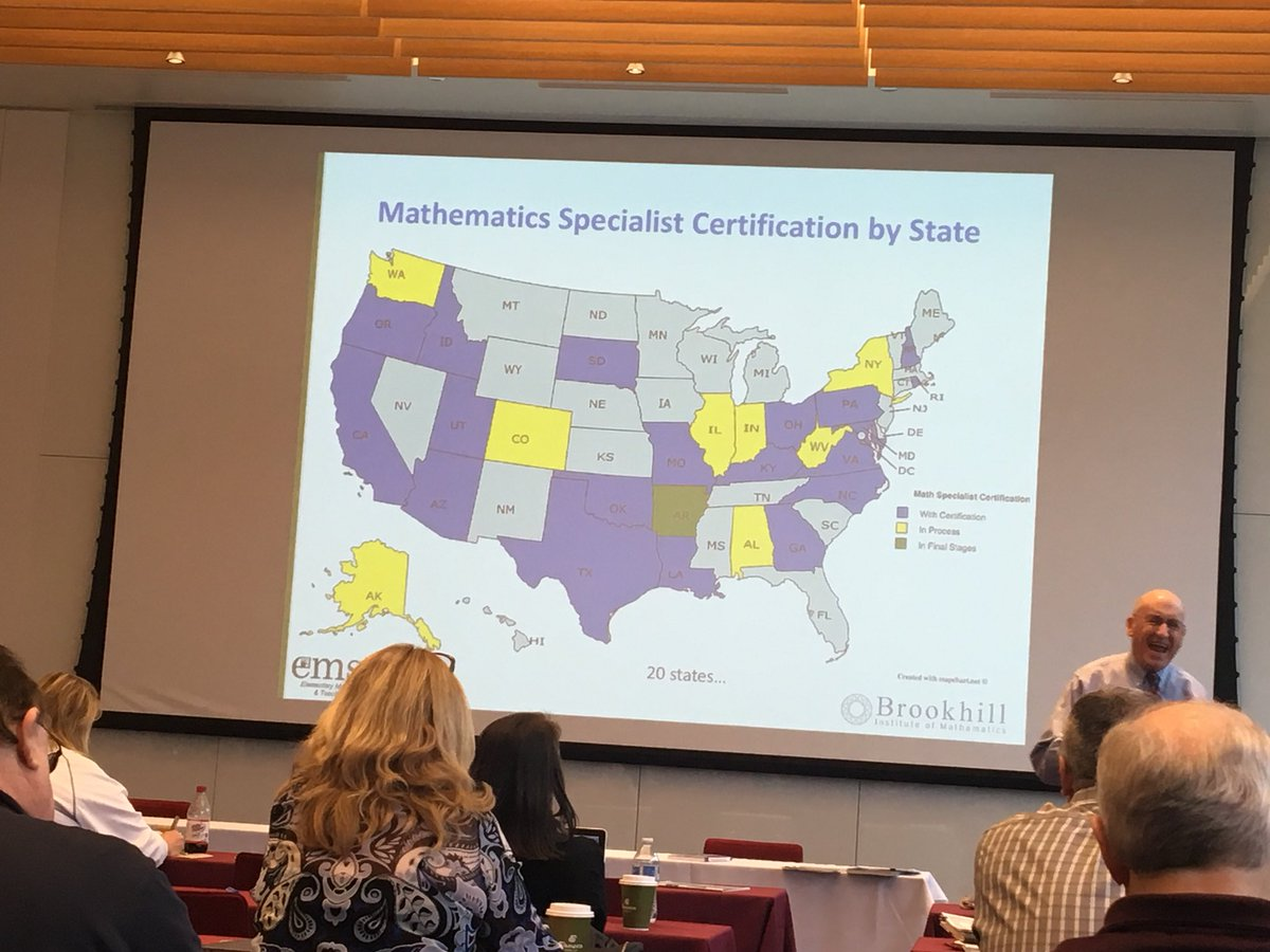 Mcmi uicmcmi twitter did you know that all 50 states have reading specialist certification this pic shows what is going on with elementary math specialist xflitez Images
