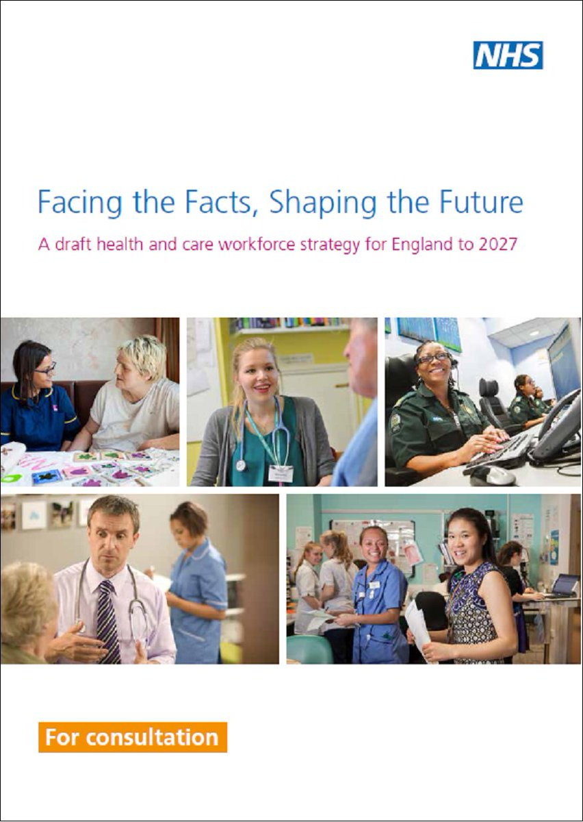 Today we have launched the first system-wide #DraftWorkforceStrategy for the NHS & social care in nearly 25 years https://t.co/XOpsy3MPof