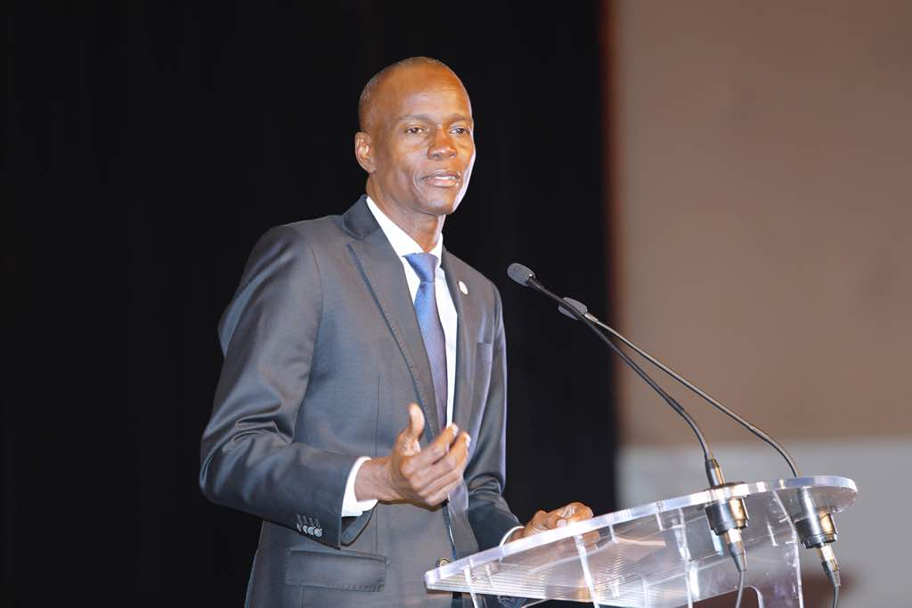 Image result for JOvenel Moise in paris