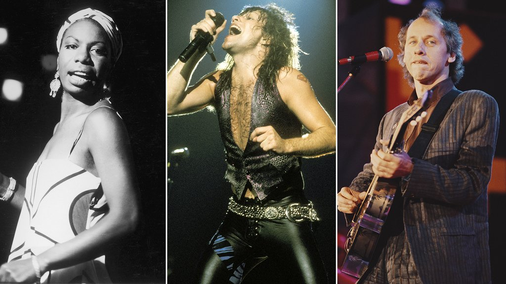 Bon Jovi, Dire Straits and Nina Simone lead the Rock and Roll Hall of Fame class of 2018. See the full list of #RockHall2018 inductees here https://t.co/DUW58l7anL