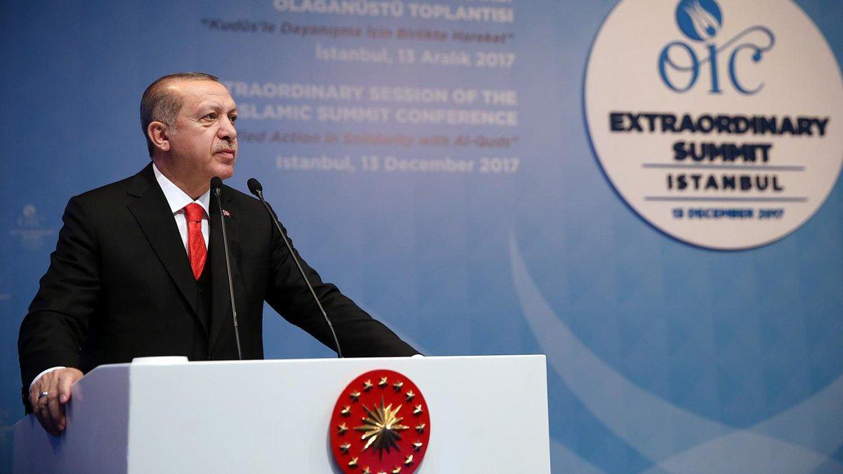Décision de Trump sur Jérusalem : Erdogan appelle à reconnaître la ville comme 'capitale de la Palestine'   https://t.co/KEZsyP62pS