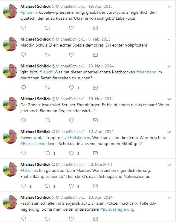 Der Sprecher der @Linksfraktion im Bundestag twittert aber pointiert. #Schulz #Biermann #Ukraine https://t.co/Ak78bUsIm5