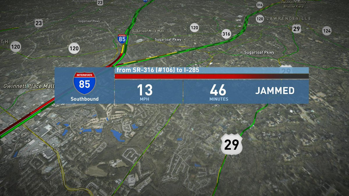 #MorningRushATL Latest News Trends Updates Images - 11AliveTraffic