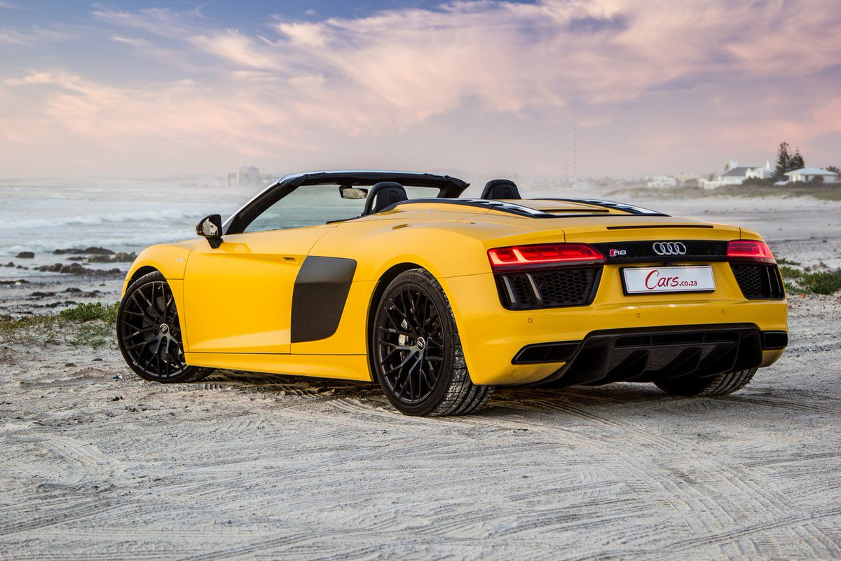 Interested in the @Audi R8 V10 Spyder? R...