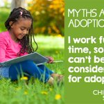 Think you can't adopt? You could be wrong! Let us dispel some of the myths around #adoption ... https://t.co/9Myr7jkR7H