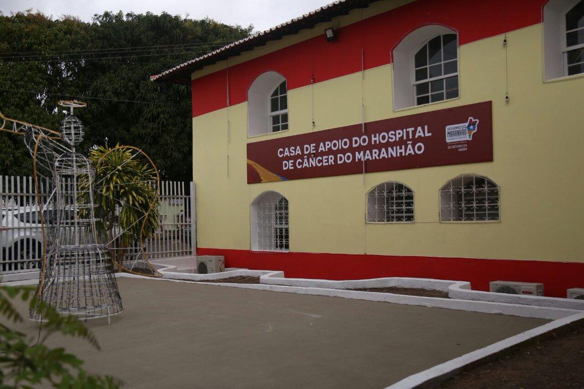 [AGORA] Governador @FlavioDino inagura Casa de Apoio do Hospital de Câncer do Maranhão, em São Luís. #GovernoDeTodosNós