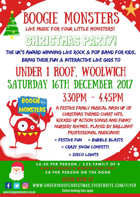 Charming ... And Much More!  Https://www.eventbrite.co.uk/e/boogie Monsters Festive Family Party At Under  1 Roof Tickets 39253620636/amp U2026pic.twitter.com/fIN6VUUqAy