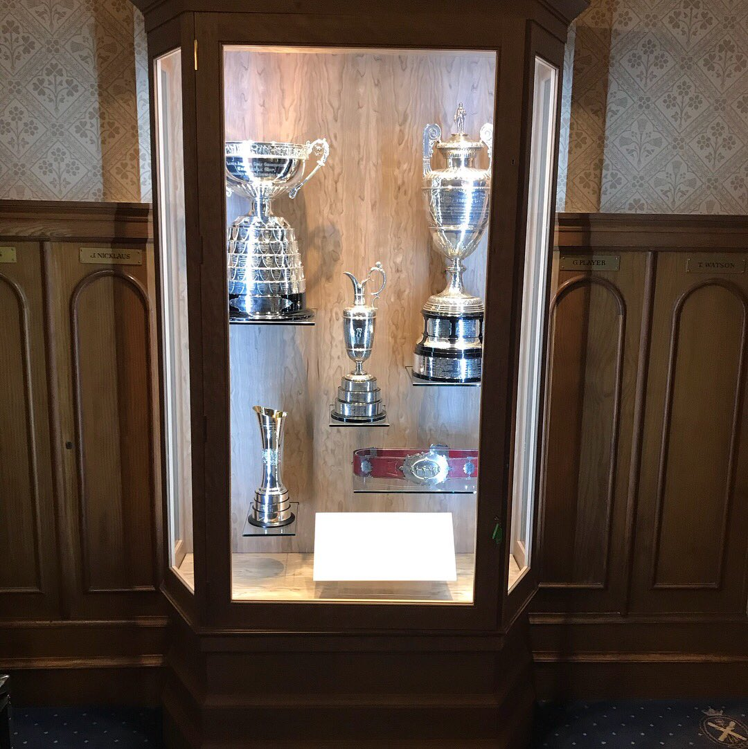 Made In Stunning American Cherry This Case Will Display The Famous Claret Jug Womens British Open Cup TheOpen RICOHWomensBritpictwitter