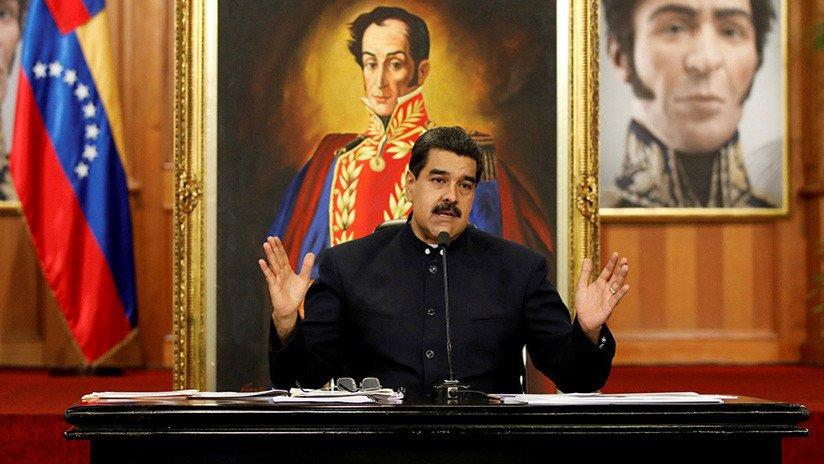 Maduro: 'Todos los actos cometidos por #...