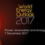 Watch our latest World Energy Outlook webinar on power, renewables and energy efficiency: https://t.co/S5NpiXVn7M