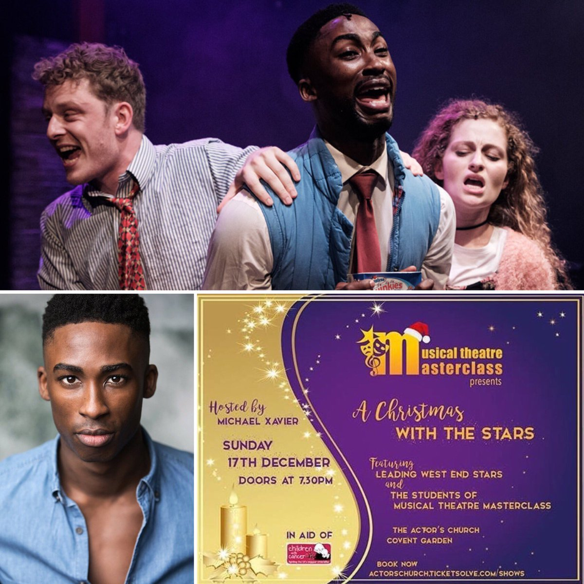 We're SO HAPPY to have yet ANOTHER fabulous actor and singer @jordanshawuk (currently in #Follies at the @NationalTheatre ) performing with our MTM students at #AChristmasWithTheStars charity concert in aid of @CwC_UK  #fundraising #charity #christmasconcert #xmasconcert<br>http://pic.twitter.com/0ZG3DgQu5E