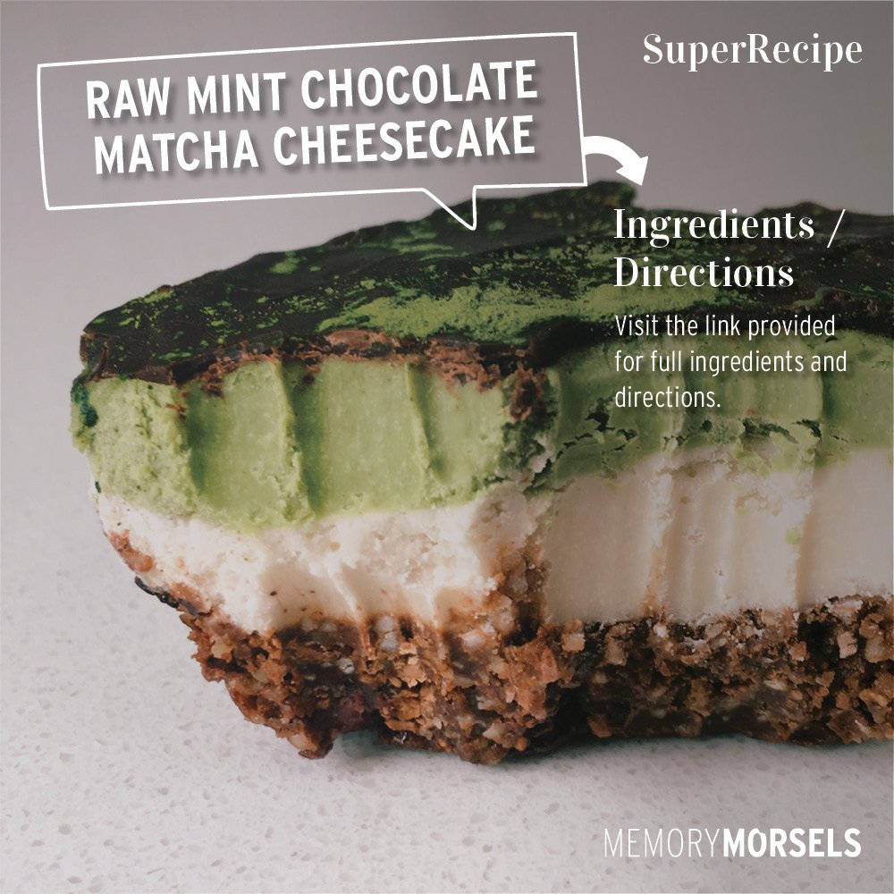 Share the goodness: Raw Mint Chocolate M...