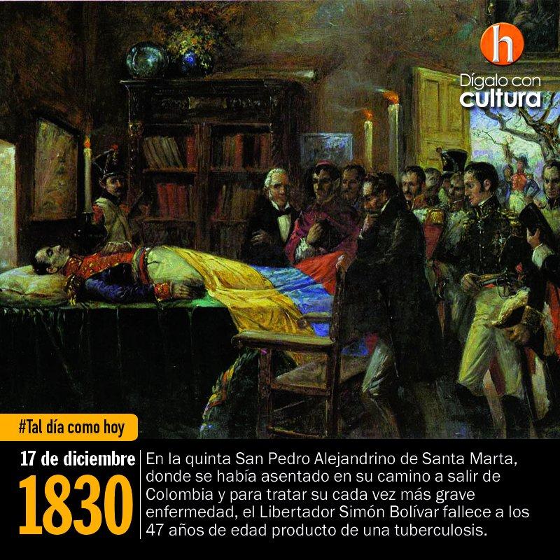 🗓️ #TalDíaComoHoy en 1830, el Libertador...