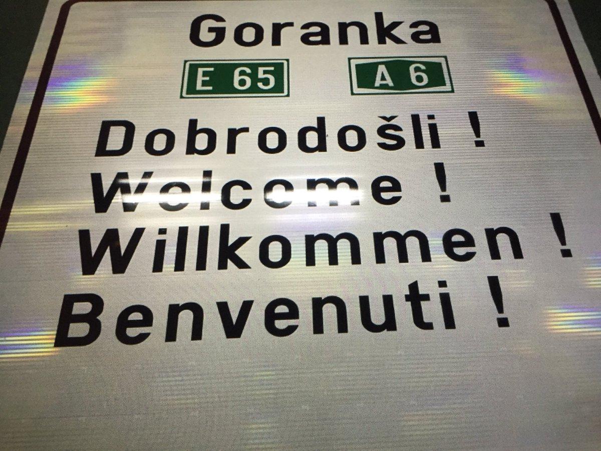 Malo eskluzive, nakon #Dalmatina i #Slavonika hrvatske autoceste dobivaju #Goranka i #Primorka a ujedno #Goranka se pridružuje Luizijani Jozefini i Karolini #GorskiKotar #Kvarner