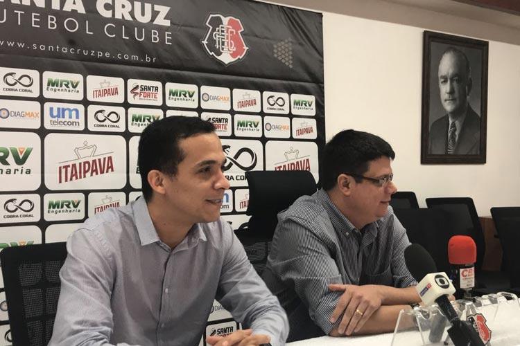 Apresentado, Fred Gomes quer parceria do Santa Cruz com clubes por atletas para dividir salários  https://t.co/yVOZJNt0MD