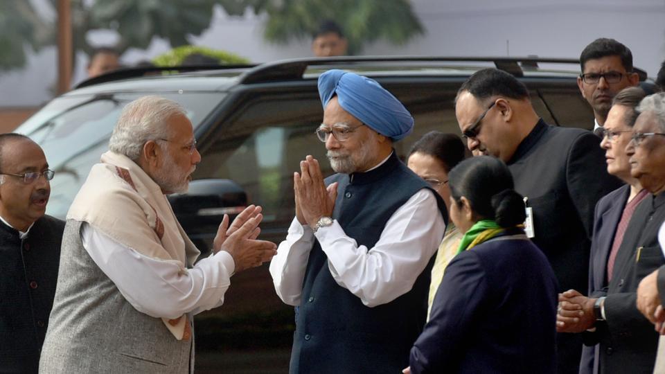 A day before Gujarat election final phase, it's PMModi vs Manmohan Singh vs Amit Shah in Delhi https://t.co/CVjqtARwFO