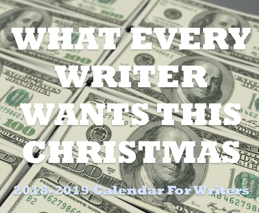 What every #writer wants this #christmas  … the 2018-2019 Calendar For Writers $13.99  https://www. amazon.com/dp/1544971176  &nbsp;   get yours from #amazon and make that #author smile <br>http://pic.twitter.com/J87ddPYeoV