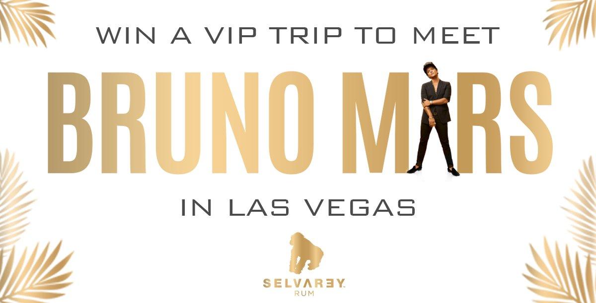 Win a trip to meet Bruno in Vegas, court...