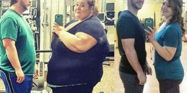 Após perder 178 Kg, casal mostra antes e depois  https://t.co/vXVSahRMWR