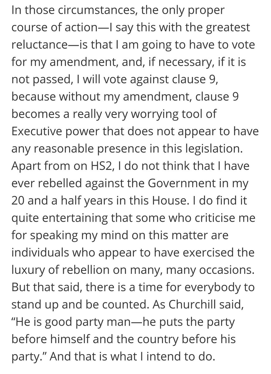 Grieve ended his speech today by quoting Churchill. It certainly  rallied his troops in the Brexit wars. Here is his peroration.