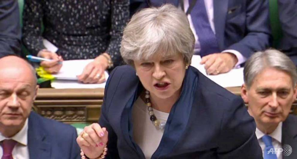 PM May loses key Brexit vote in British...