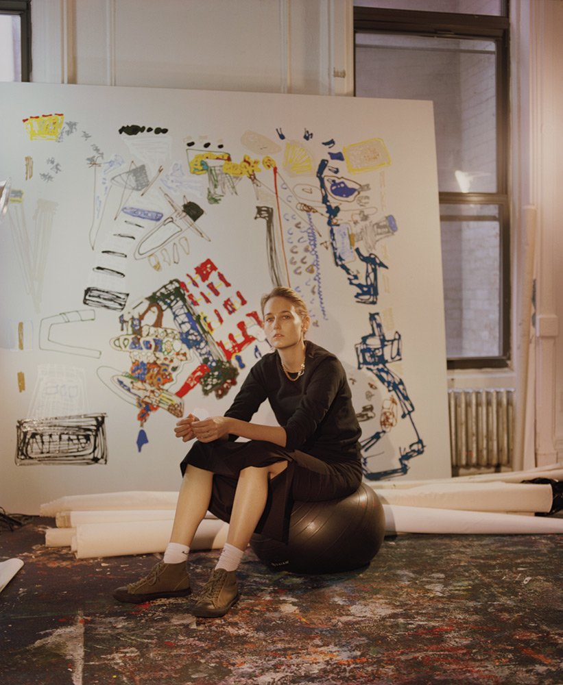 """""""I always said, 'I don't want to act. I paint,'""""says Leelee Kimmel, one of our ten young artists on the verge, who appeared in 1999's #EyesWideShut before leaving Hollywood https://t.co/SWSApFlKTf"""