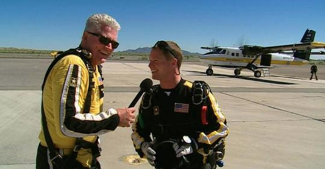 Join Huell as he goes on the adventure of a lifetime, skydiving with the world-famous U.S. Army Golden Knights. https://t.co/KSwcp1UhD5