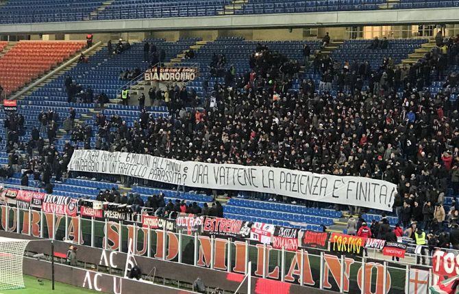 """La Curva del Milan a Donnarumma: """"Pazienza finita: vattene, pezzo di m... E ... - https://t.co/Bc0KpiZGFB #blogsicilianotizie #todaysport"""