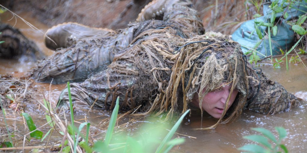 Take a look at the grimy and grueling training the Army uses to turn soldiers into snipers https://t.co/8zkEvQDCwW