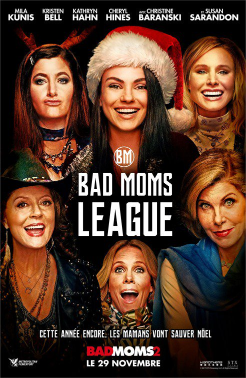RT @PopCorn_Media: The new French poster for A BAD MOMS CHRISTMAS looks familiar. 🤔 #BadMomsXmas #MoviePosters https://t.co/nk2xpjZ6s2