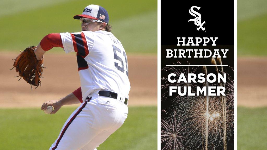 Happy birthday, @Carson_Fulmer! 🎉